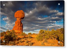 Balanced Rock Acrylic Print