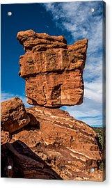Balanced Rock Garden Of The Gods Acrylic Print by Paul Freidlund