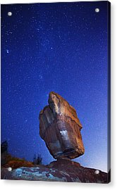 Balanced Rock Nights Acrylic Print