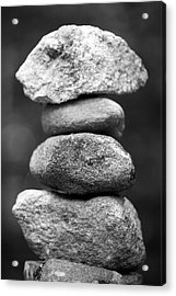 Balanced Rocks, Close-up Acrylic Print by Snap Decision