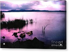 Balaton By Night Acrylic Print