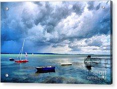 Balaton Lake Acrylic Print