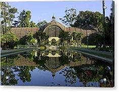 Balboa Park Botanical Building - San Diego California Acrylic Print by Ram Vasudev
