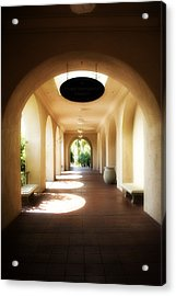 Balboa Park  Acrylic Print by Hugh Smith