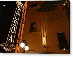 Acrylic Print featuring the photograph Balboa Theatre by Nathan Rupert