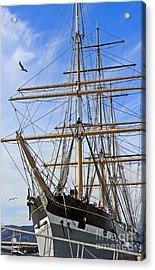 Acrylic Print featuring the photograph Balclutha by Kate Brown