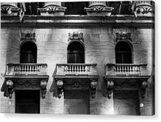 Balconies At Nyse  Acrylic Print