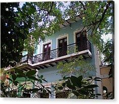 Balcony At La Caleta Acrylic Print