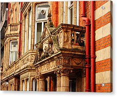 Balcony On Surrey Street Acrylic Print