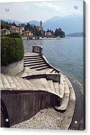Balcony On The Lake Acrylic Print