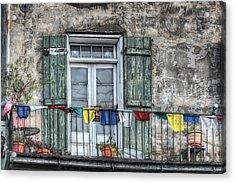 Balcony View Acrylic Print