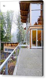 Balcony Acrylic Print by Will Austin