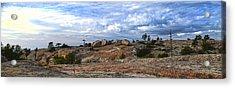 Bald Rock Panorama Acrylic Print
