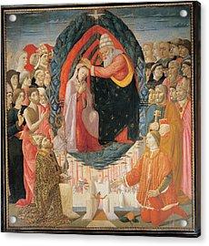 Baldassarre Di Biagio Del Firenze Acrylic Print by Everett