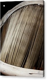 Baleen Whale Filter Plates Acrylic Print