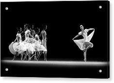 Balerina Movement Acrylic Print
