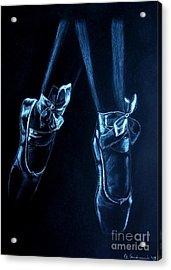 Balerinas Acrylic Print by Anna Androsovski