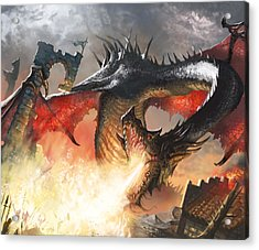 Balerion The Black Acrylic Print