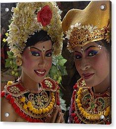 Bali Beauties Acrylic Print by Bob Christopher