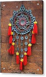 Bali, Indonesia Metalwork And Cloth Acrylic Print