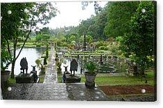 Bali Lake Side Acrylic Print by Jack Edson Adams