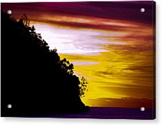 Bali Veiw Acrylic Print by Terry Cosgrave