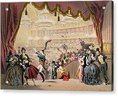 Ball At The Opera Acrylic Print