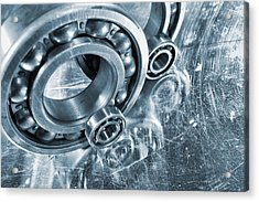Ball Bearings And Engineering Acrylic Print