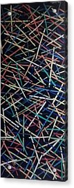 Ball Of Confusion Acrylic Print by Steven Taylor