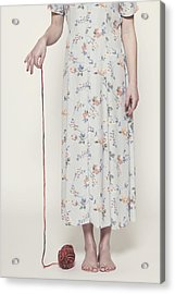 Ball Of Wool Acrylic Print by Joana Kruse
