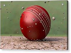 Ball Strike Acrylic Print