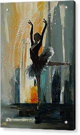 Ballerina 17 Acrylic Print by Mahnoor Shah