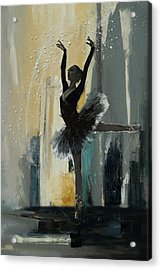 Ballerina 18 Acrylic Print