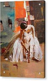 Ballerina 20 Acrylic Print by Mahnoor Shah