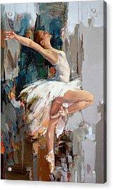 Ballerina 22 Acrylic Print by Mahnoor Shah
