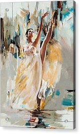 Ballerina 24 Acrylic Print by Mahnoor Shah