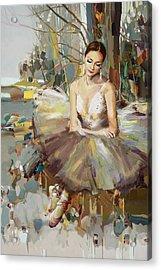 Ballerina 32 Acrylic Print