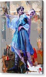 Ballerina 37 Acrylic Print by Mahnoor Shah