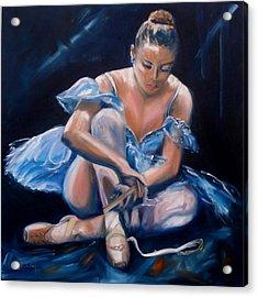 Ballerina II Acrylic Print by Donna Tuten