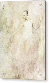 Ballerina Acrylic Print by Linda Blair