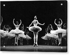 Ballerina Margot Fonteyn Acrylic Print by Eliot Elisofon