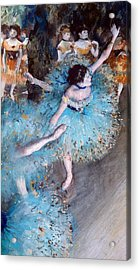 Ballerina On Pointe  Acrylic Print