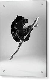 Ballerina Acrylic Print by Piotr Leczkowski