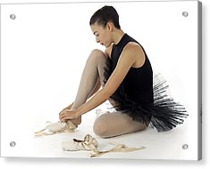 Ballerina   Acrylic Print by Stephen Norris