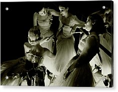 Ballerinas In Radio City Music Hall Acrylic Print by Remie Lohse