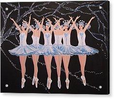 Ballerinas Acrylic Print