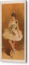 Ballet Acrylic Print by Aged Pixel