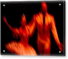 Ballet Blur 1 Acrylic Print