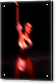 Ballet Blur 4 Acrylic Print