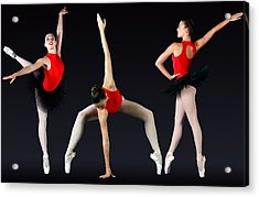 Ballet Dancer Acrylic Print by Stephen Norris